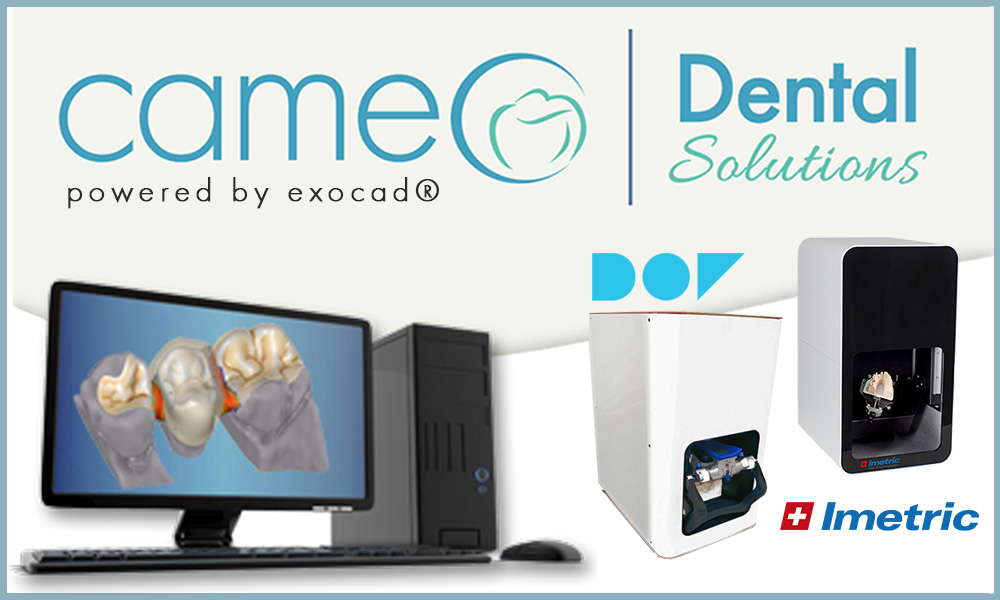 Exocad Cameo Dental Software and Imetric DOF Scanner
