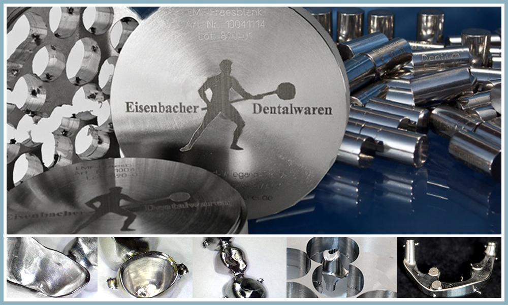 Eisenbacher Titanium and Chrome Cobalt CrCo Discs