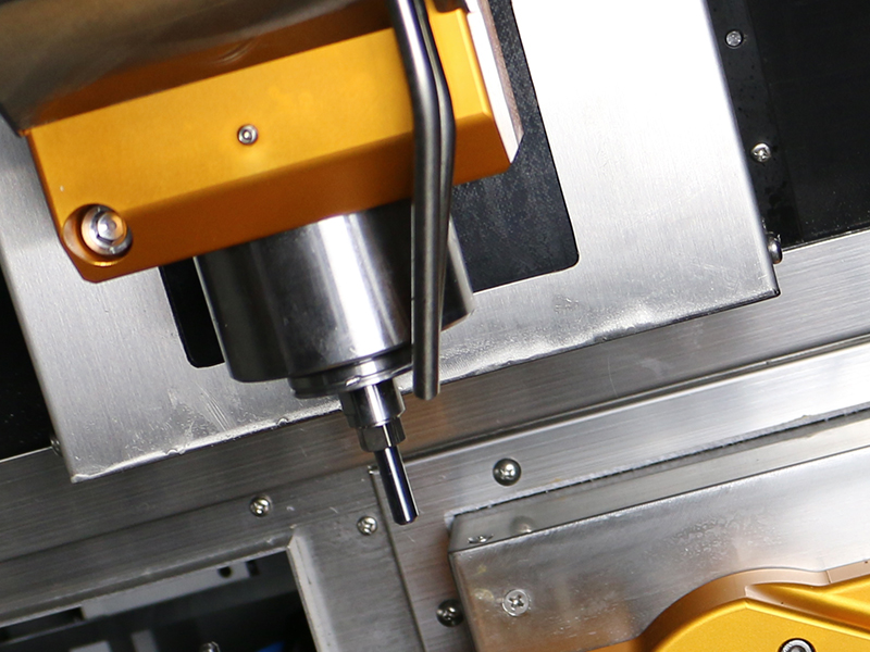 Powerful CNC Spindle with Automated Tool Changer (ATC): 3 Kw, 6mm Shank Tooling
